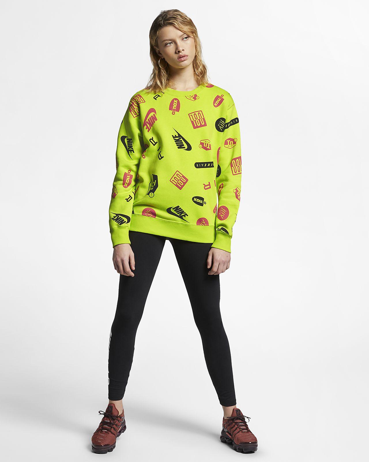 Nike Air Max Damen Rundhalsshirt mit Print