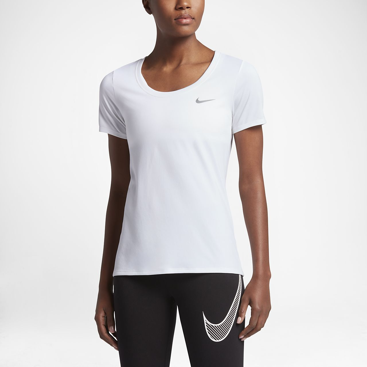 39f84c7905c Nike Dri-FIT Women s Training T-Shirt. Nike.com