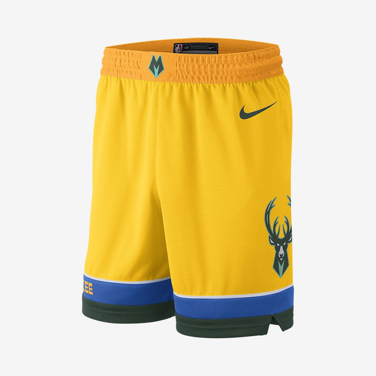 Milwaukee Bucks City Edition Swingman Men s Nike NBA Shorts. Nike.com SA ba9c8c37d