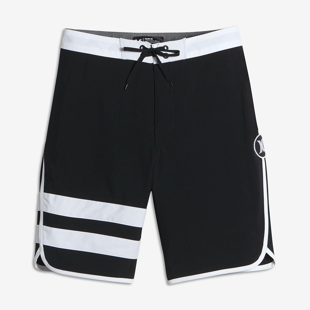 Nike Hurley Block Party Boardshorts Boys Black/White