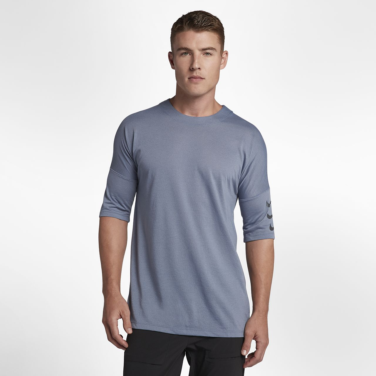 Nike Rise 365 Men's Half-Sleeve Running Top