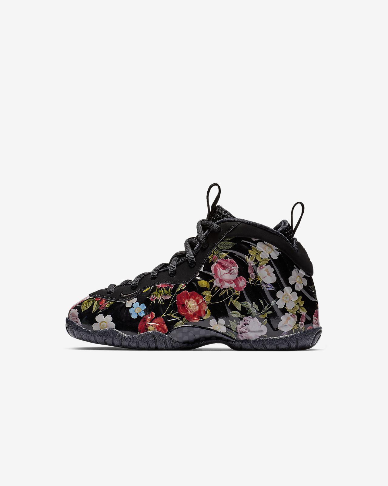 newest 205df 3ce40 ... Nike Little Posite One PRM PS Floral 幼童运动童鞋