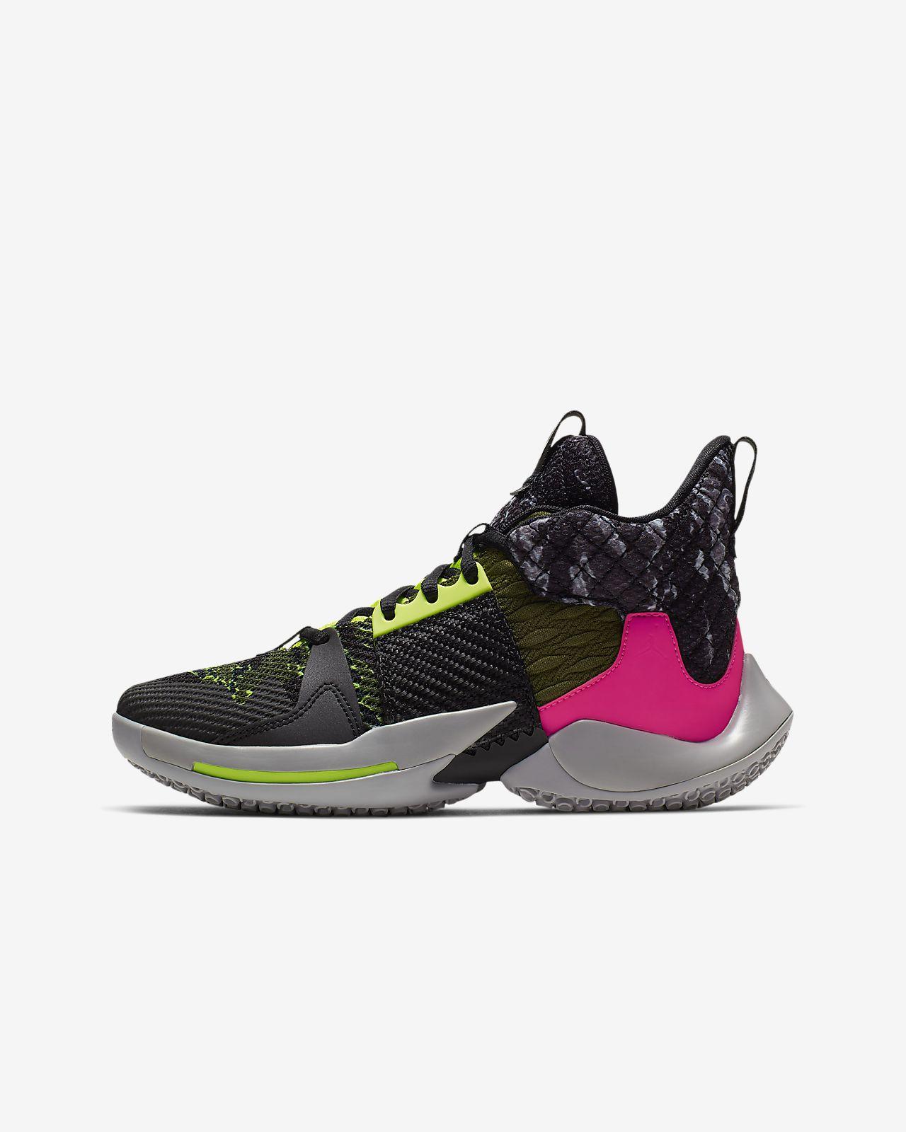 "Jordan ""Why Not?"" Zer0.2 Big Kids' Basketball Shoe"