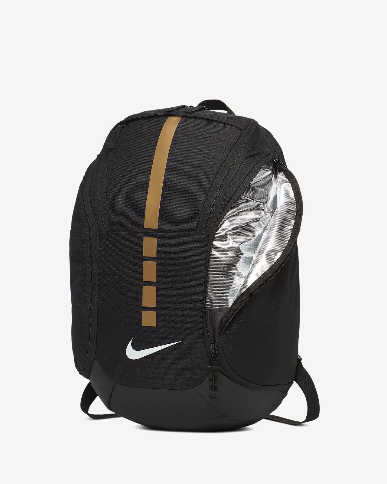 nike hoops elite max air team 2.0 backpack gold | eBay