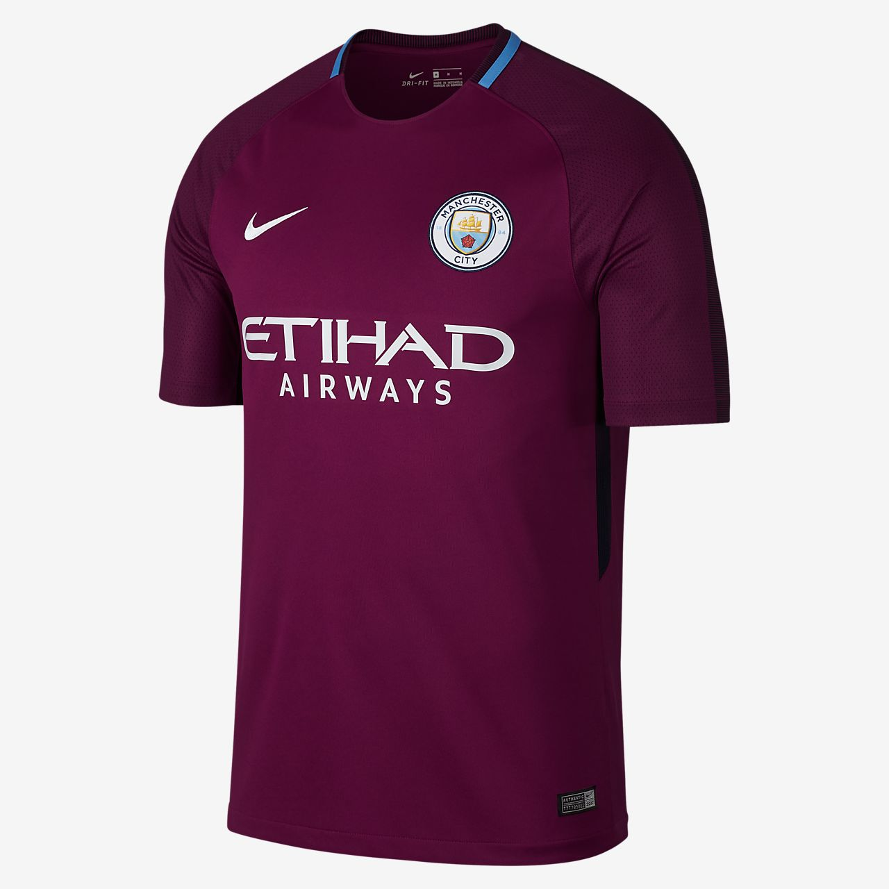 ... 2017/18 Manchester City FC Stadium Away Men's Football Shirt