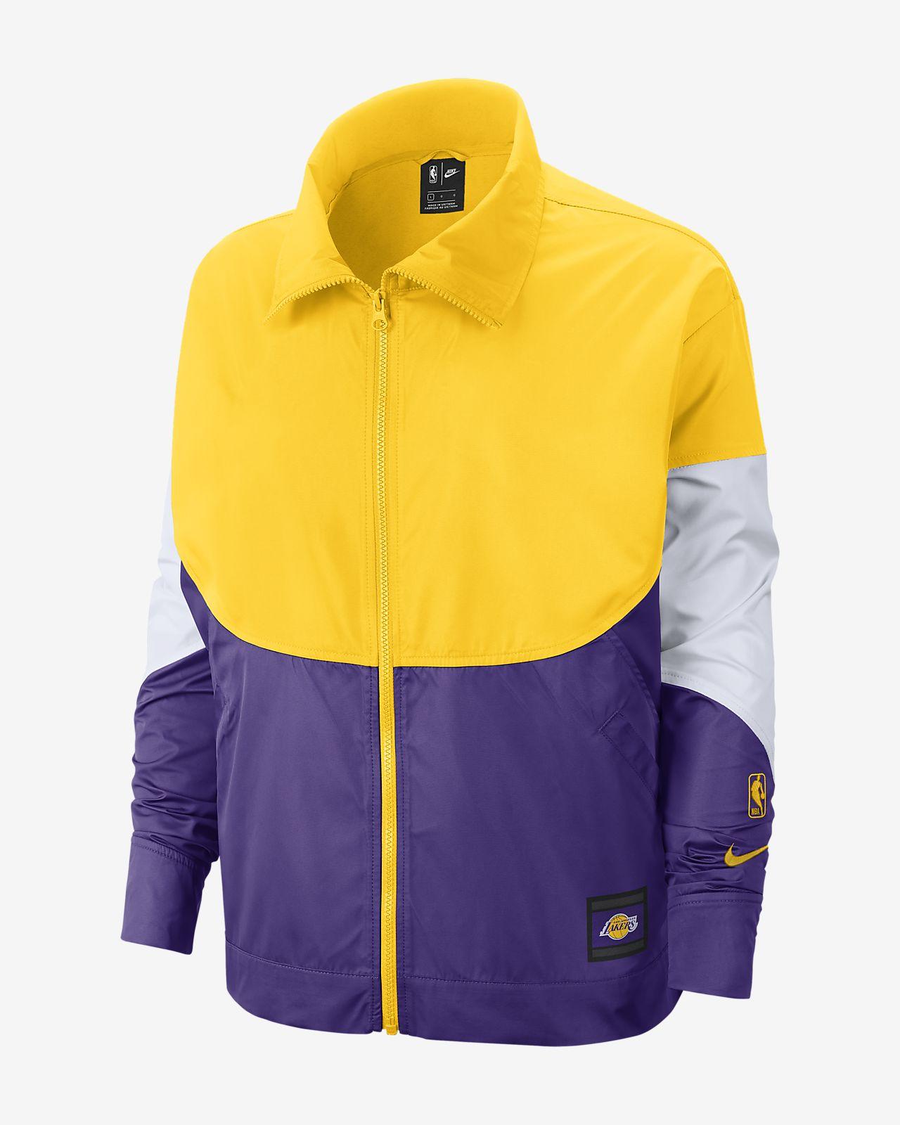 Женская куртка НБА Los Angeles Lakers Nike