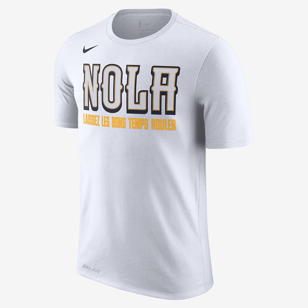 New Orleans Pelicans City Edition Nike Dri-FIT NBA-T-Shirt für Herren