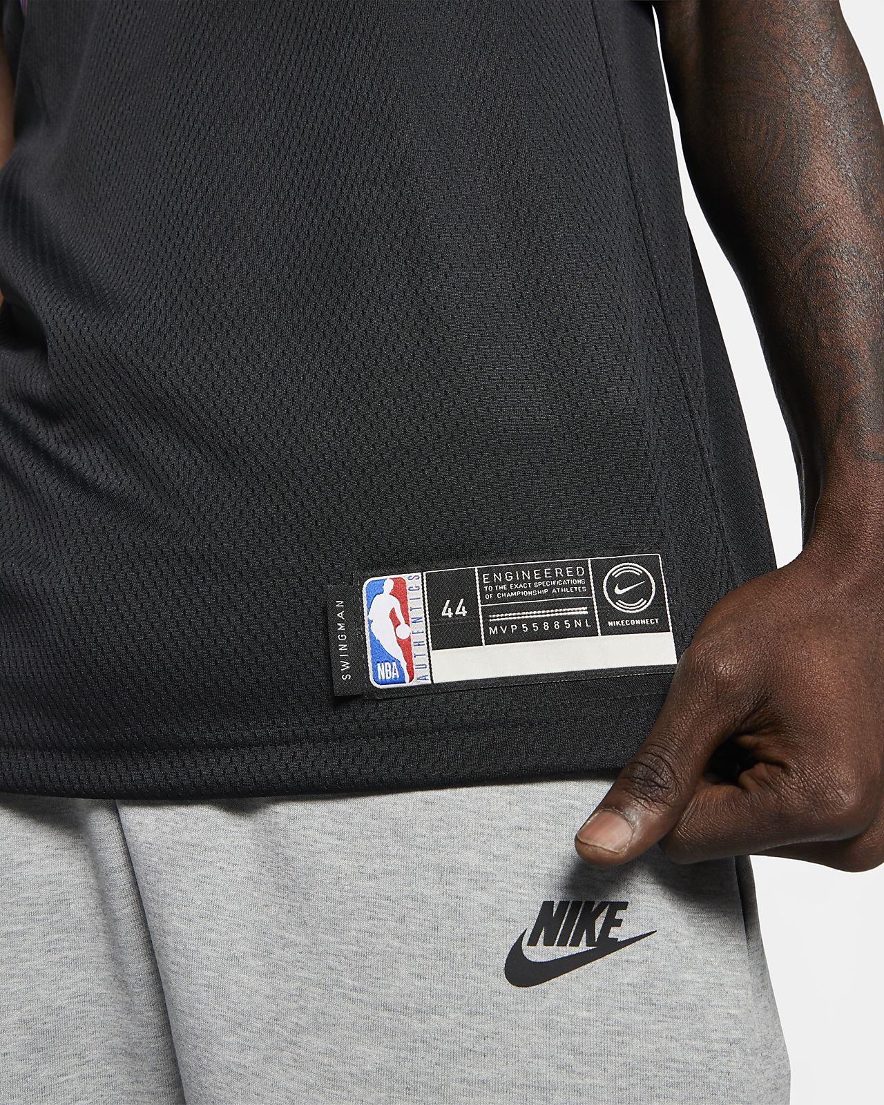 ad0664ee0 ... Dwyane Wade City Edition Swingman (Miami Heat) Men s Nike NBA Connected  Jersey