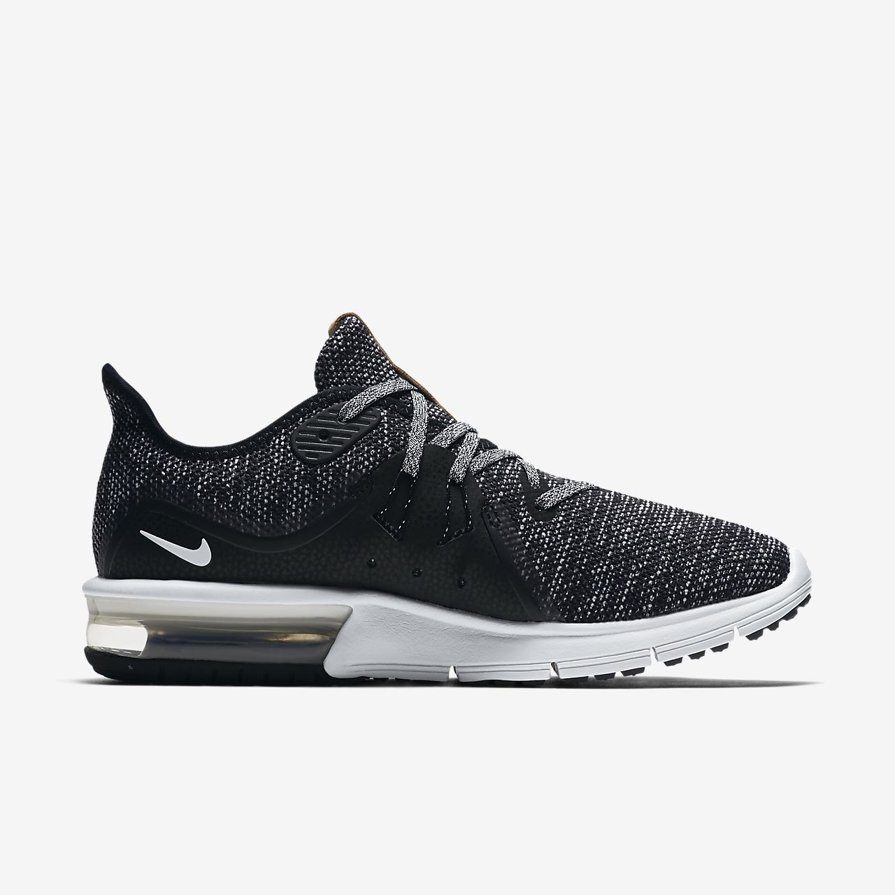 air max sequent negro
