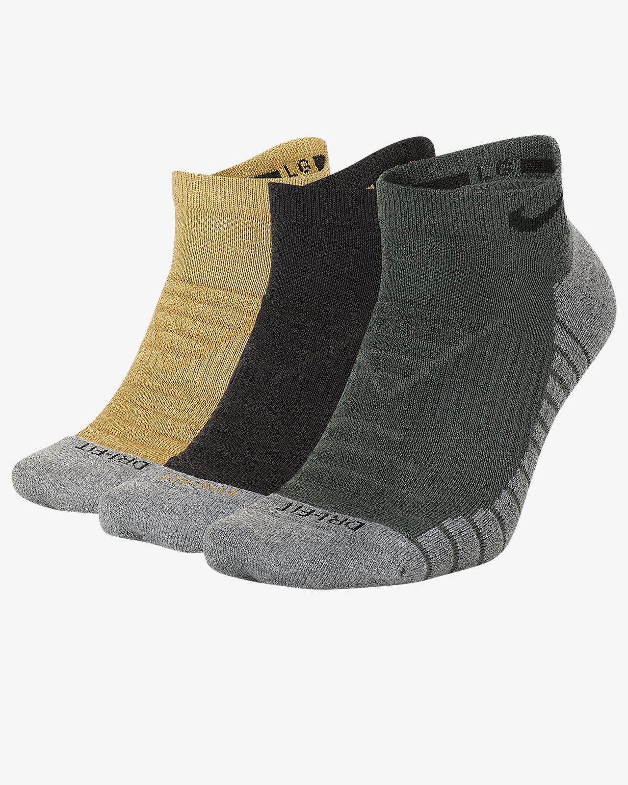 c5206706666ae1 Nike Dry Cushion No-Show Training Socks (3 Pair). Nike.com