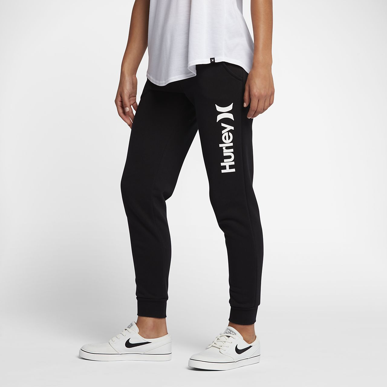 4c6471c9bdbc Hurley One And Only Pop Women s Fleece Track Trousers. Nike.com MA