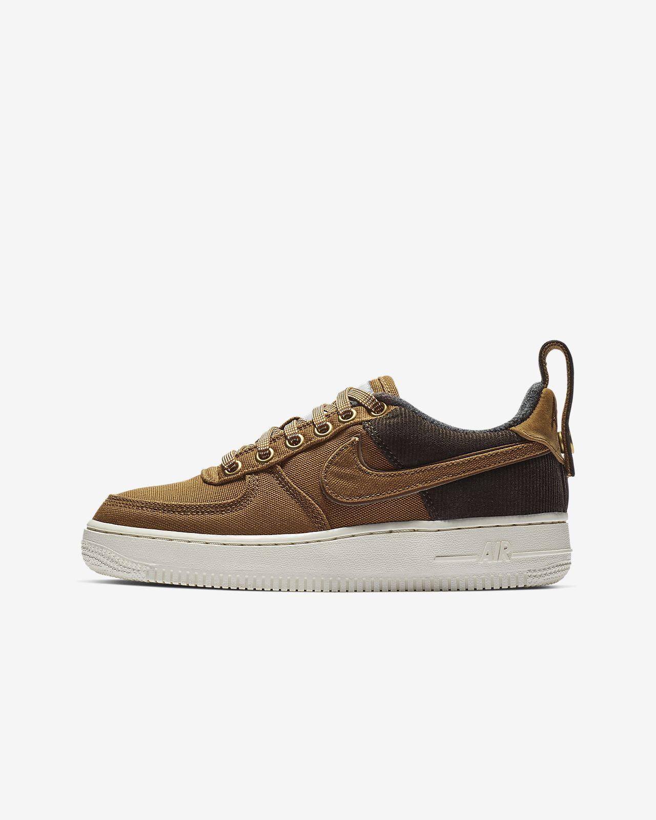 Schuh WIP Premium ältere Air 1 für Force Kinder Nike j45RLA
