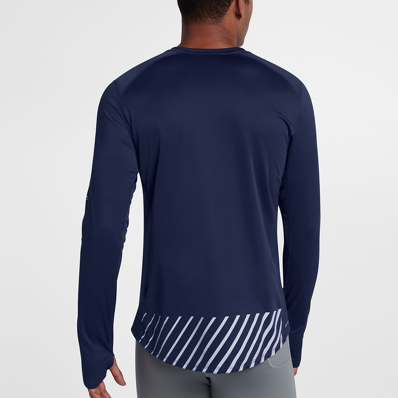 a3383a06df1f Nike Miler Long Sleeve Running Shirt - BCD Tofu House