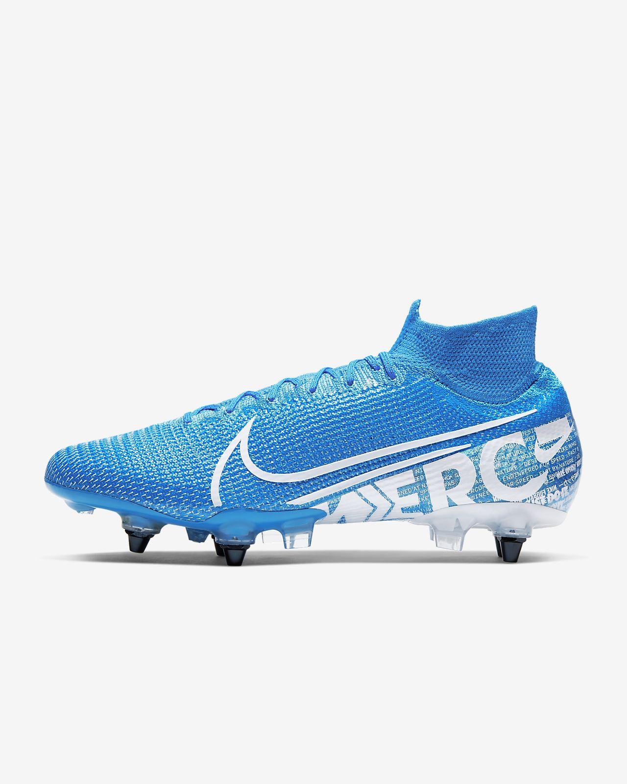 Nike Mercurial Superfly 7 Elite SG-PRO Anti-Clog Traction Botas de fútbol para terreno blando