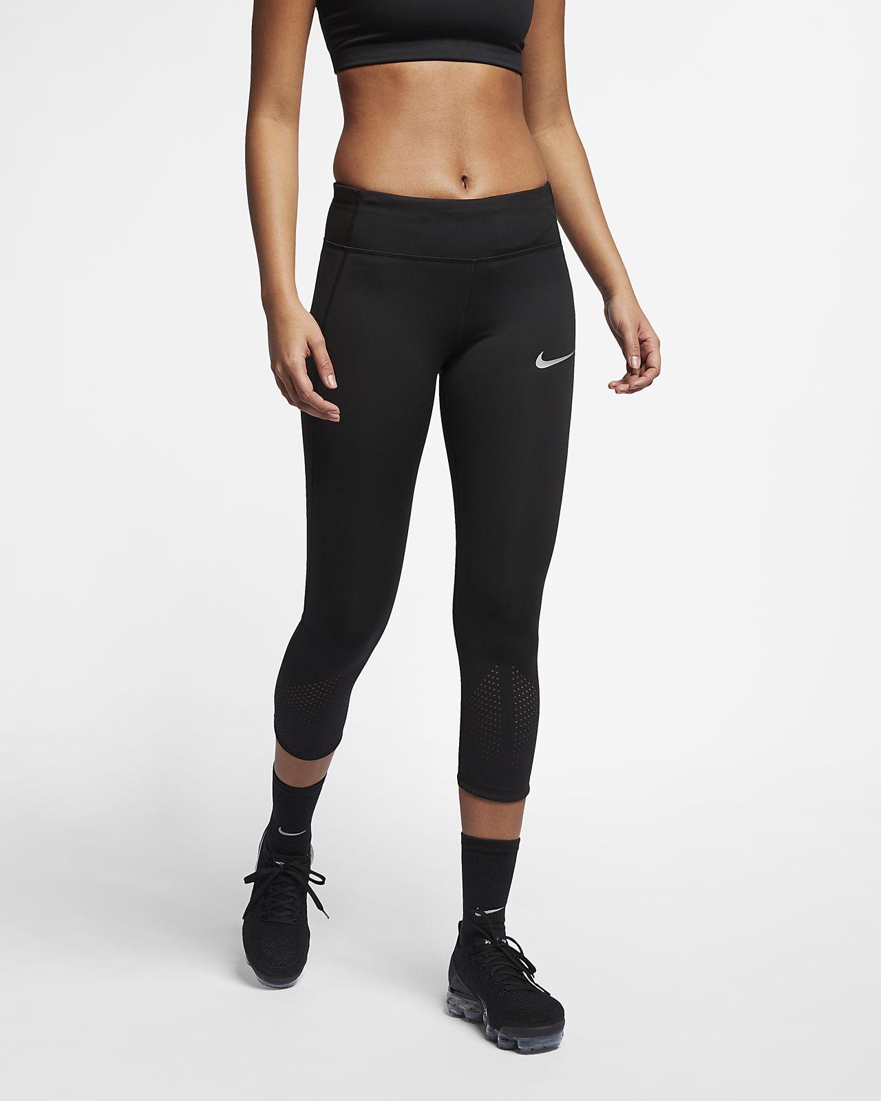 Trekvartslånga löpartights Nike Epic Lux för kvinnor