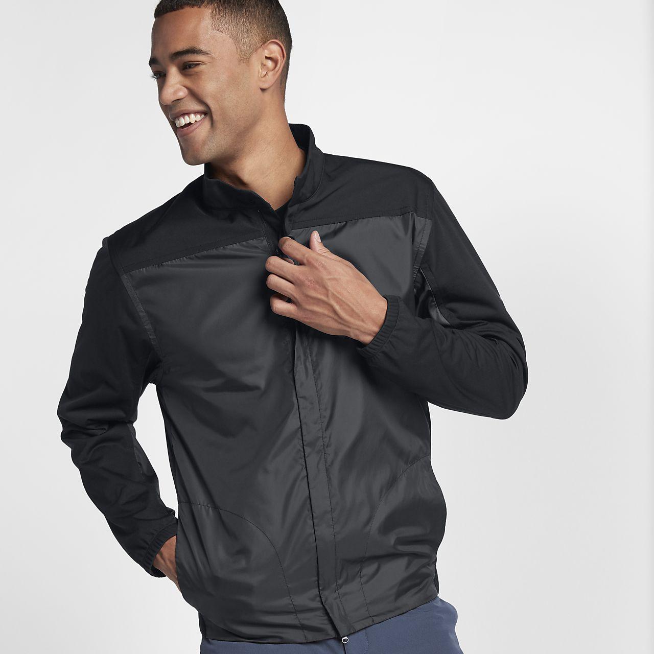 Męska kurtka do golfa z zamkiem na całej długości Nike Shield