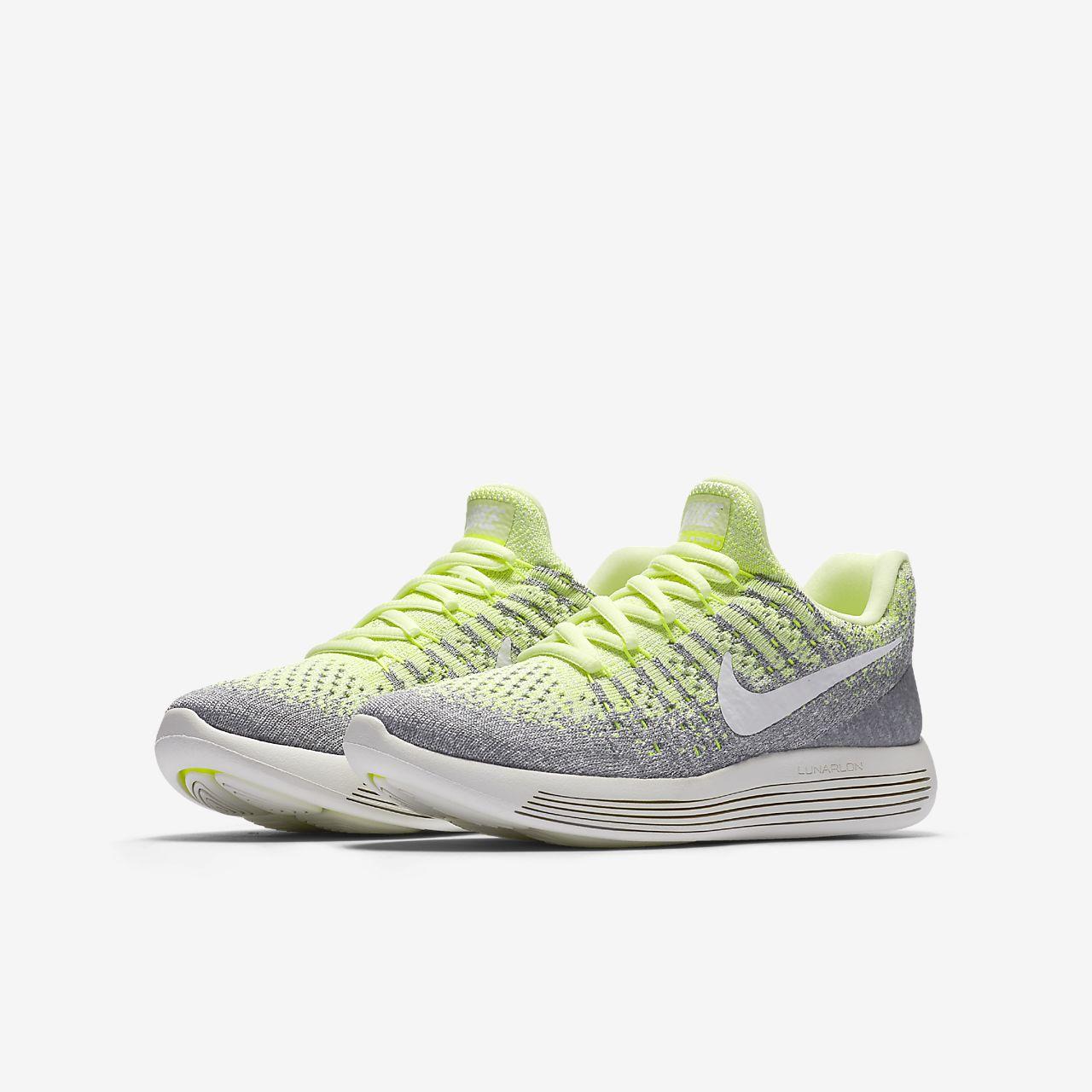nike lunarepic low flyknit 2 older kids running shoe