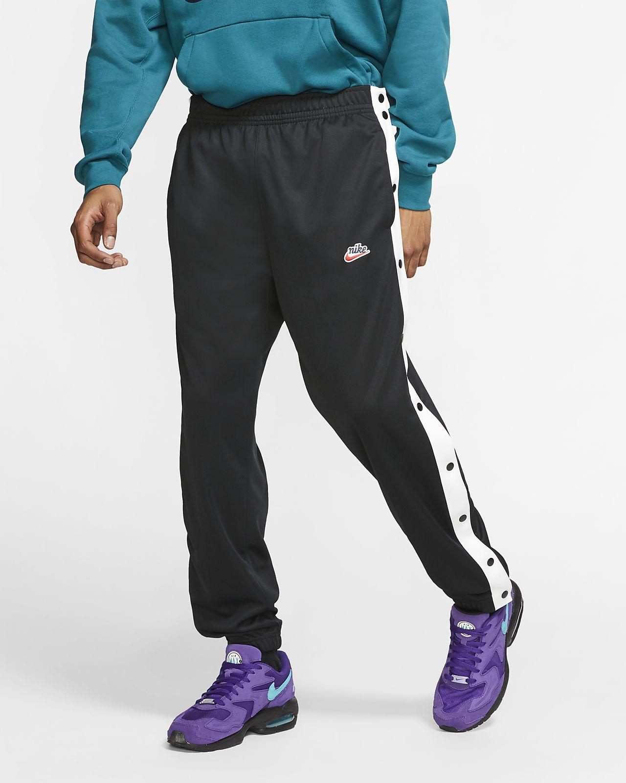 Nike Sportswear Herenbroek met drukknopen aan zijkant