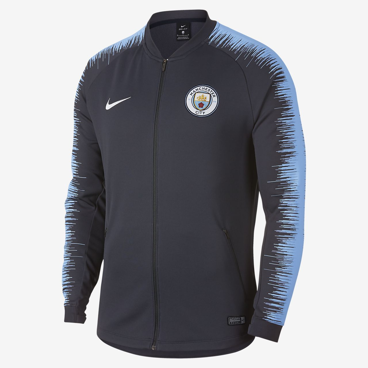 21054eead Manchester City FC Anthem Men s Football Jacket. Nike.com CA