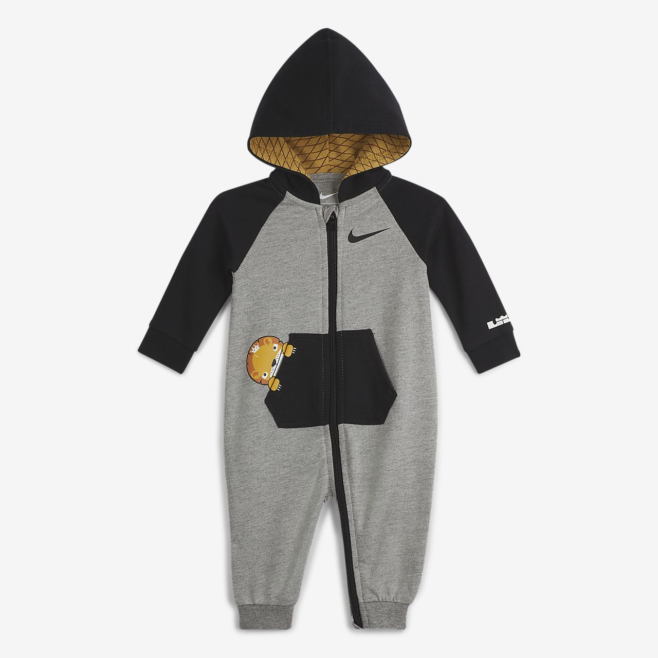 LeBron Little Beast 婴童连帽连体衣