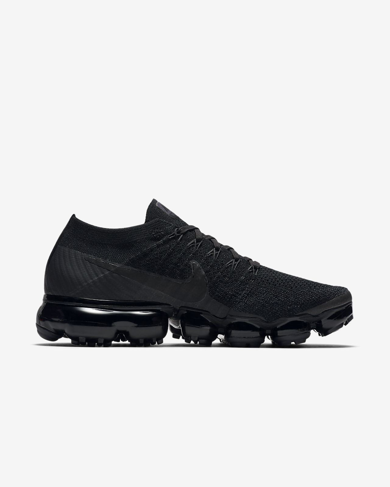huge discount 5fd41 5228b ... Nike Air VaporMax Flyknit  Triple Noir  Women s ...