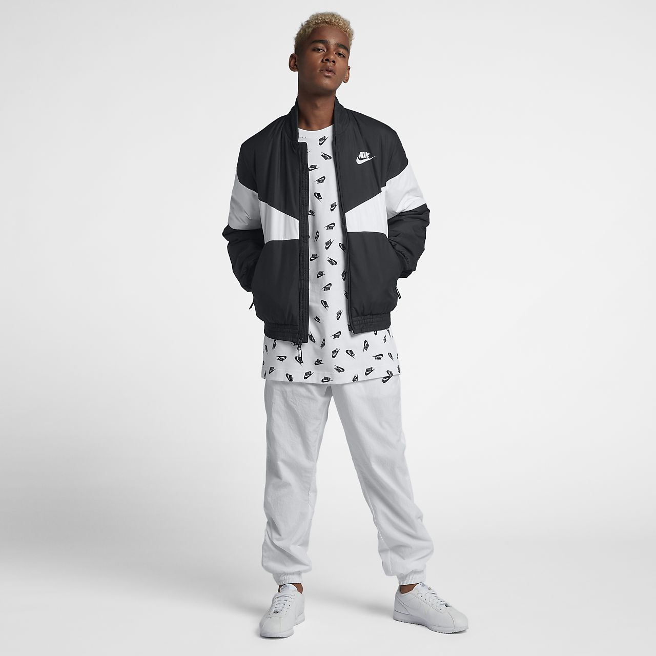 7cedde849 Nike Sportswear Synthetic-Fill Men's Graphic Bomber Jacket