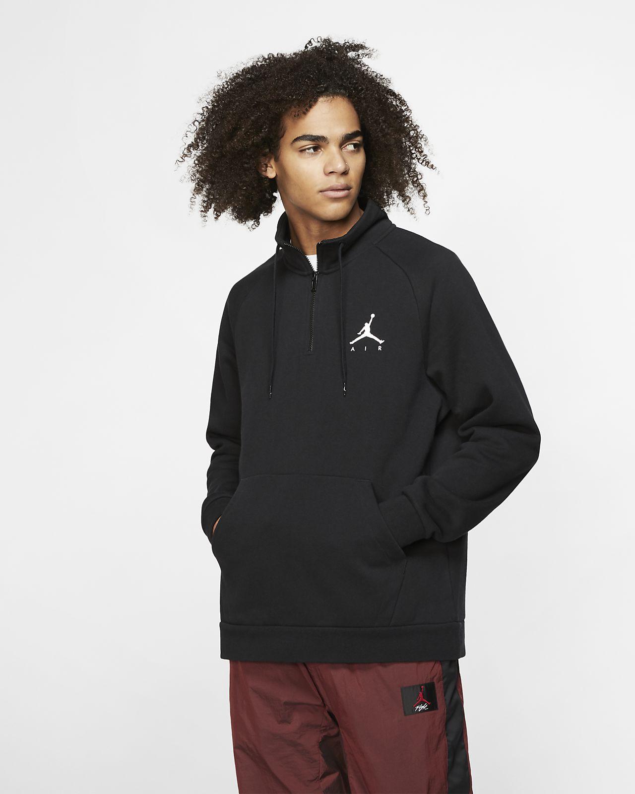 Jordan Jumpman Men's 1/2-Zip Fleece Top