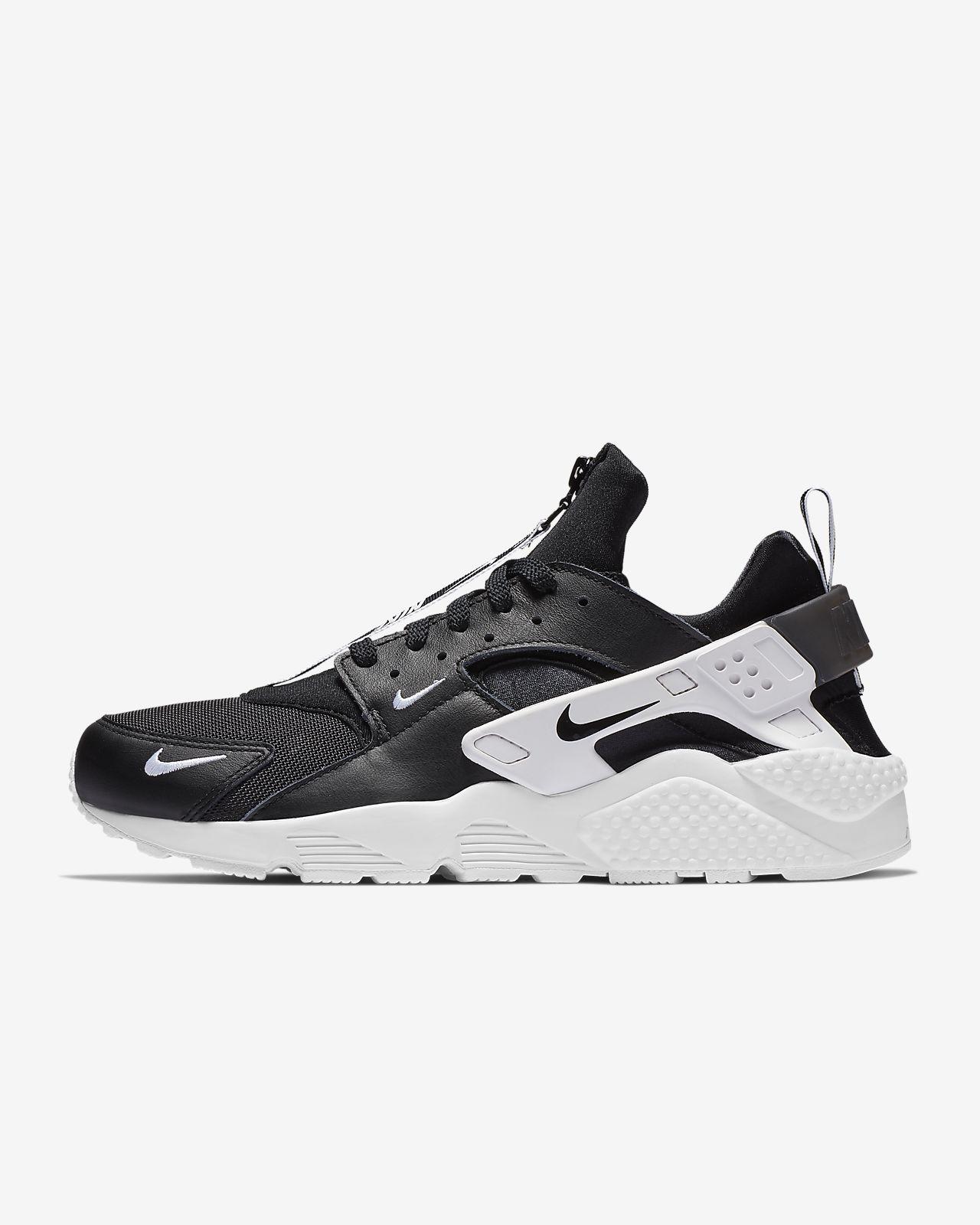 รองเท้าผู้ชาย Nike Air Huarache Run Premium Zip