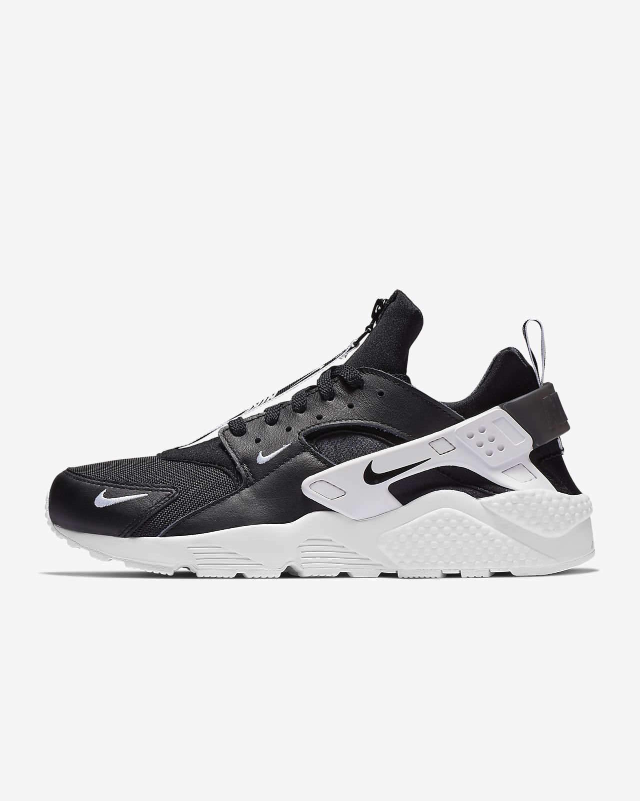 check out 7a0c0 d26de ... Nike Air Huarache Run Premium Zip Mens Shoe