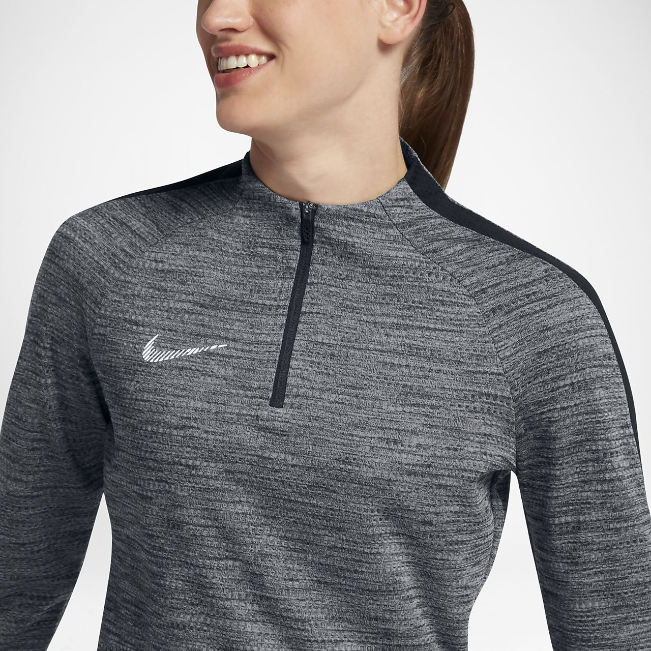 ... Nike Dry Squad Drill Women's Football Top