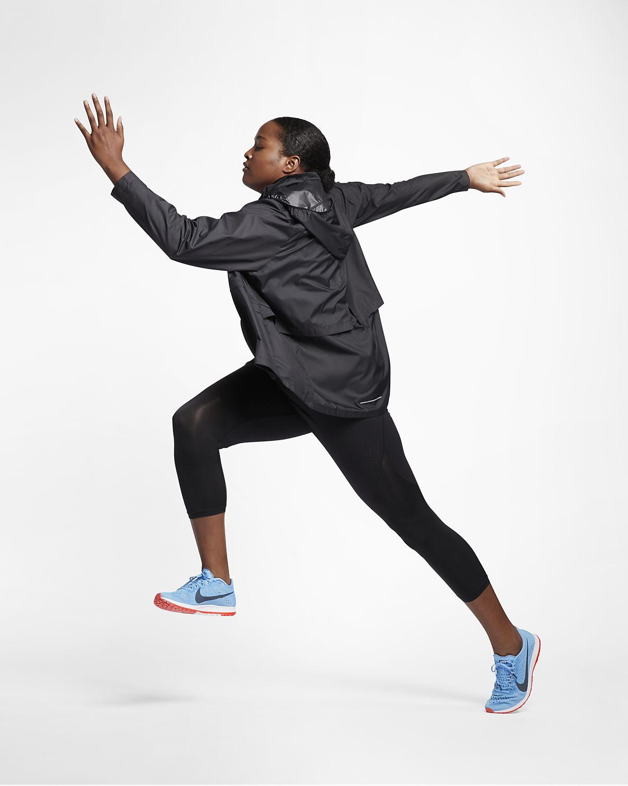 Nike Essential Hardloopjack voor dames (grote maten). Nike BE
