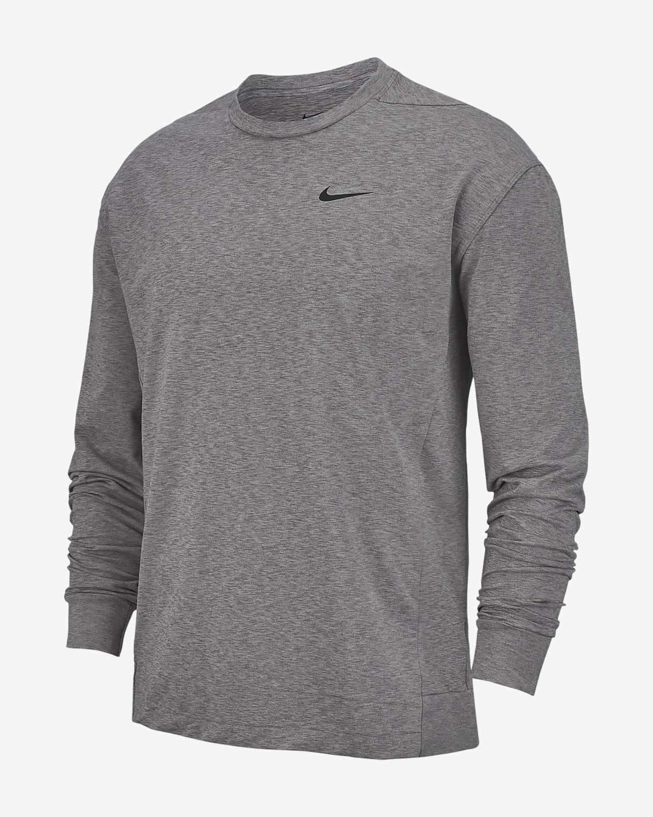 Nike Dri FIT Men's Long Sleeve Yoga Training Top