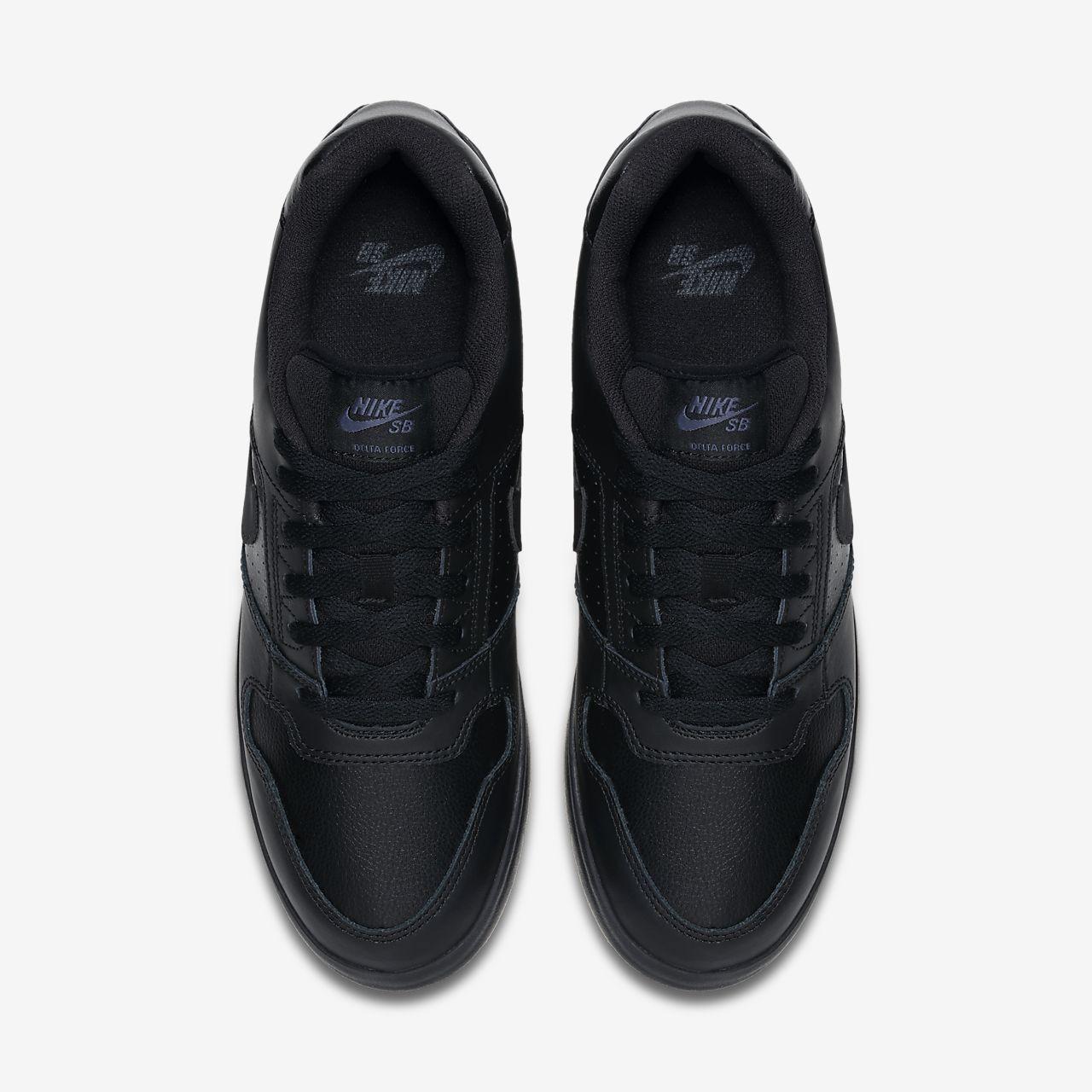 Nike Sb Delta Force Vulc Férfi Gördeszka cipő Fehér Fekete