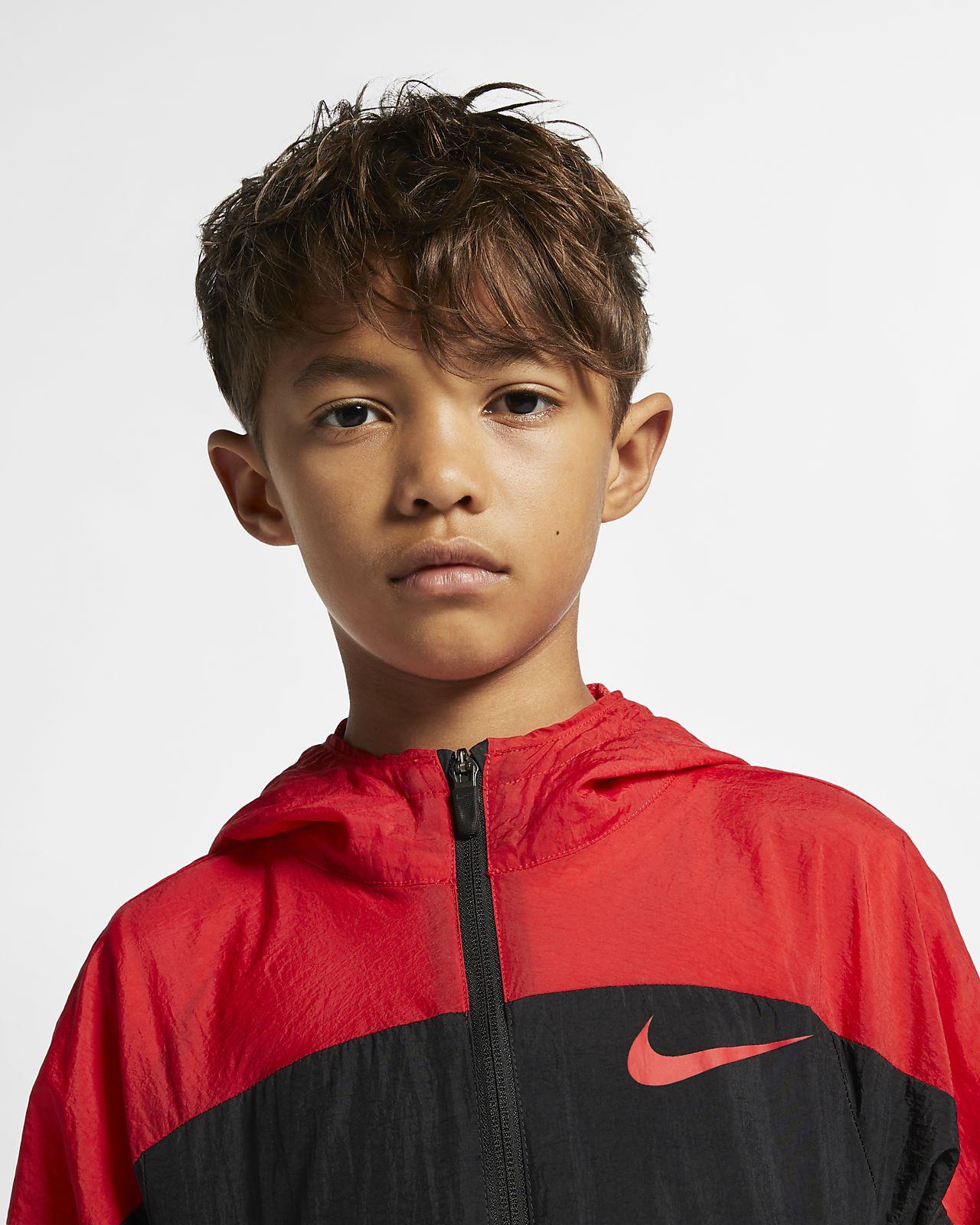 776b7aa84 Nike Dri-FIT Older Kids' Woven Training Jacket. Nike.com NL