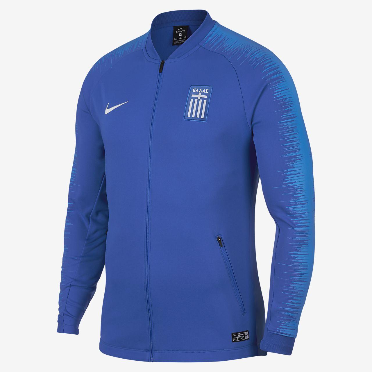 Low Resolution Greece Anthem Men's Football Jacket Greece Anthem Men's  Football Jacket