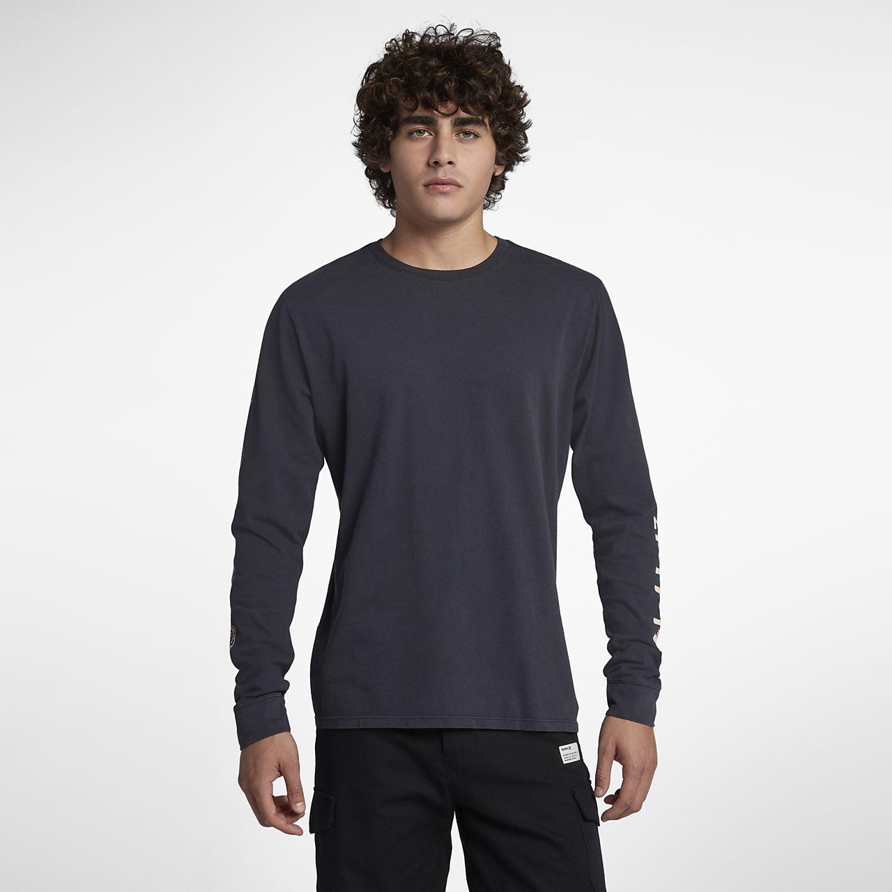 Hurley Heavy Cool Summer Men's Long Sleeve T-Shirt