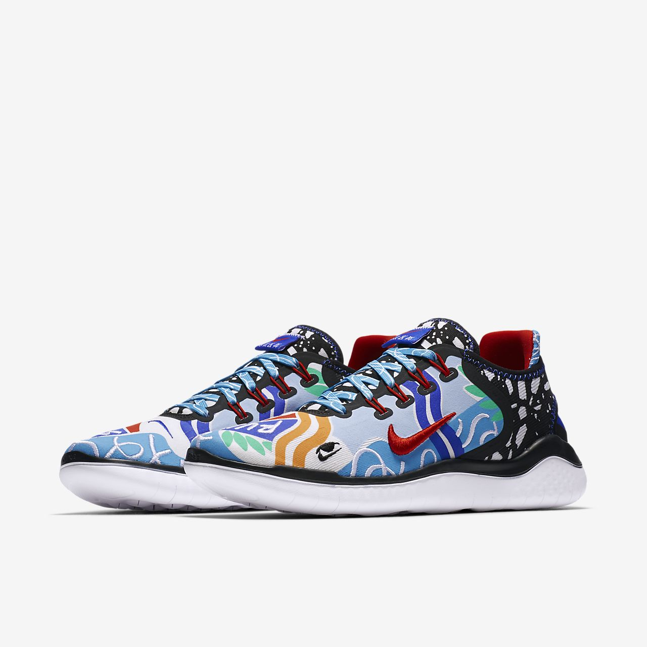Nike x Kelly Anna Free RN 2018 T-Shirt for Your Feet Women's Running Shoe