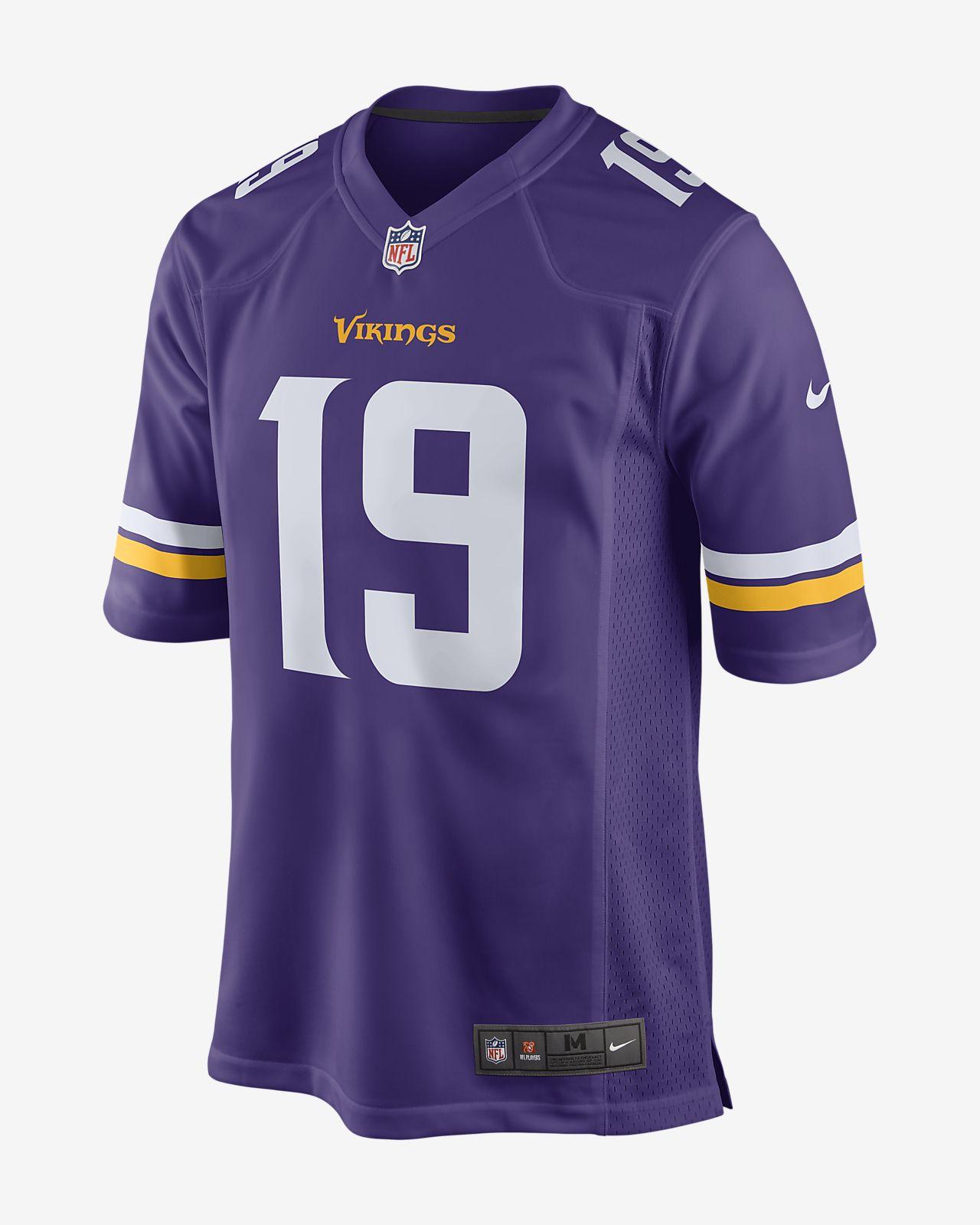 NFL Minnesota Vikings Game (Adam Thielen) amerikansk fotballdrakt til herre