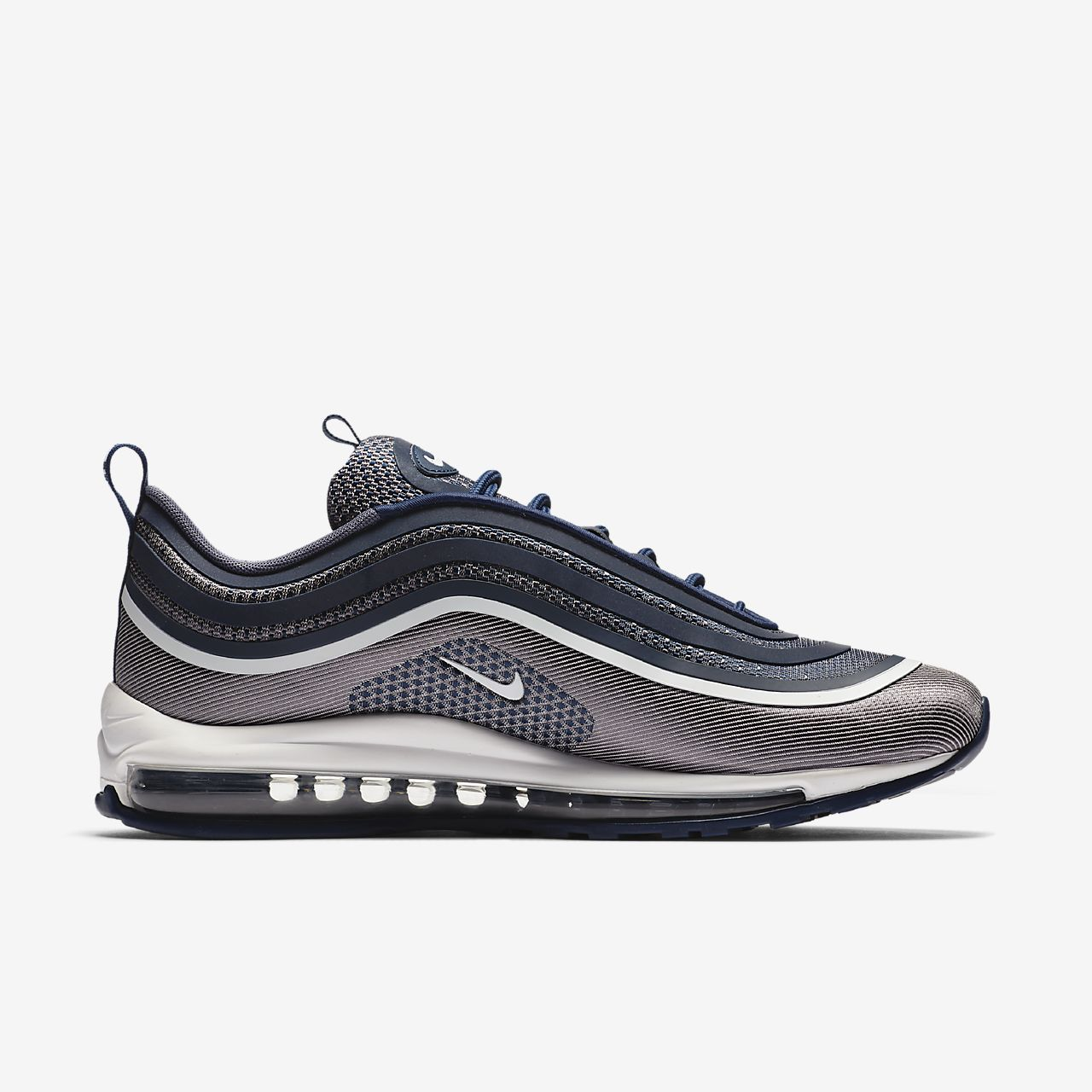Nike Air Max 97 UL '17 Men's Running Shoes Silver/Red/Black