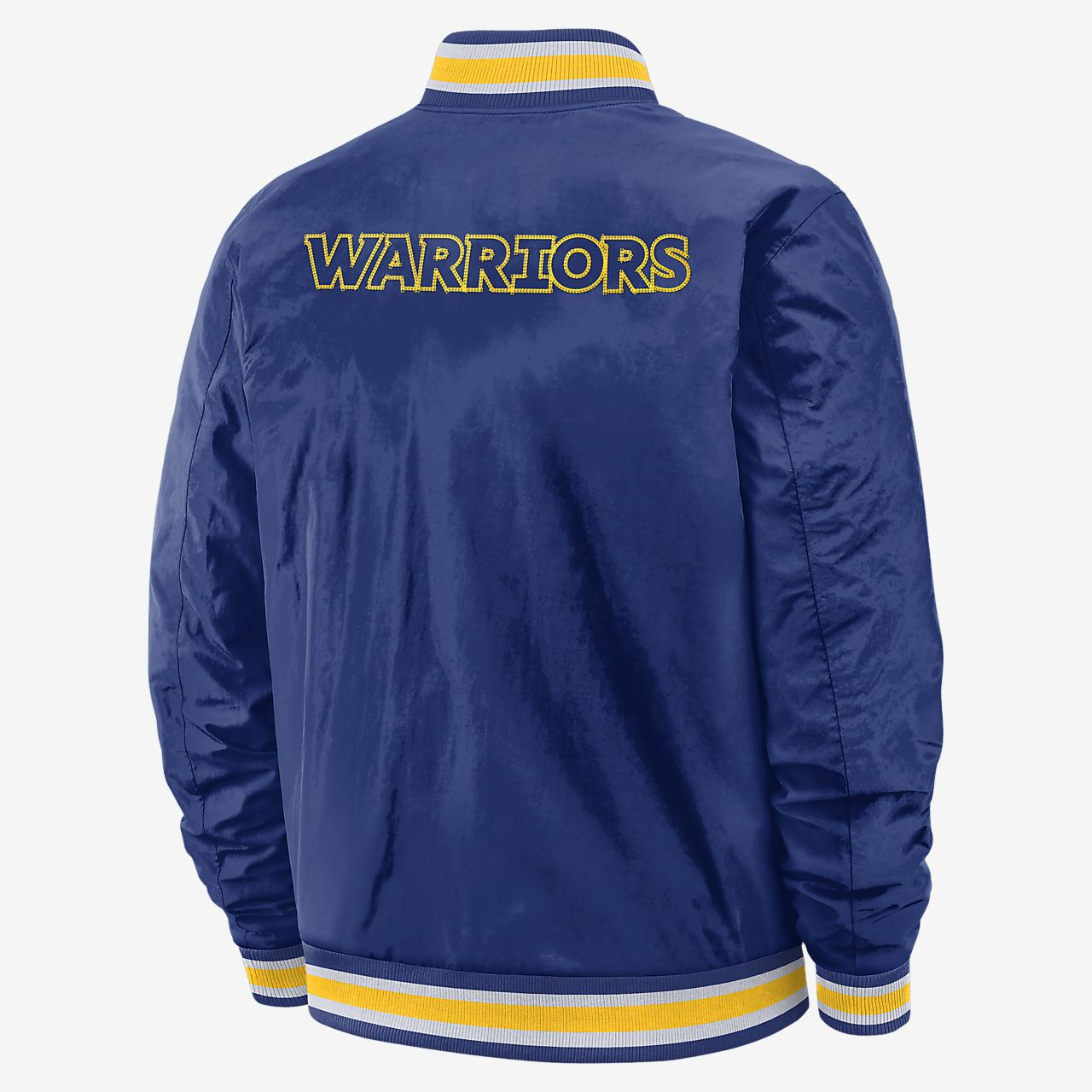 Veste réversible Nike NBA Golden State Warriors Courtside pour Homme