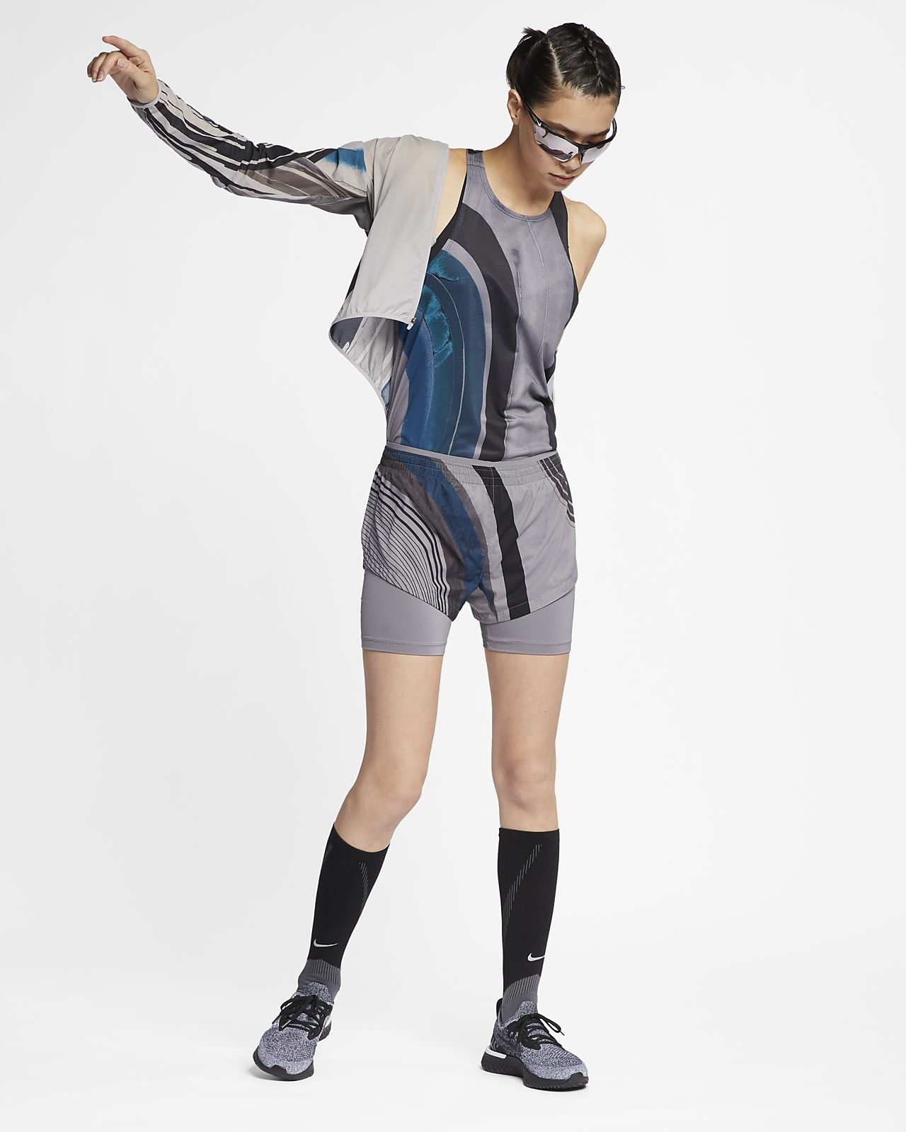 Nike Impossibly Light Damen-Laufjacke mit Kapuze