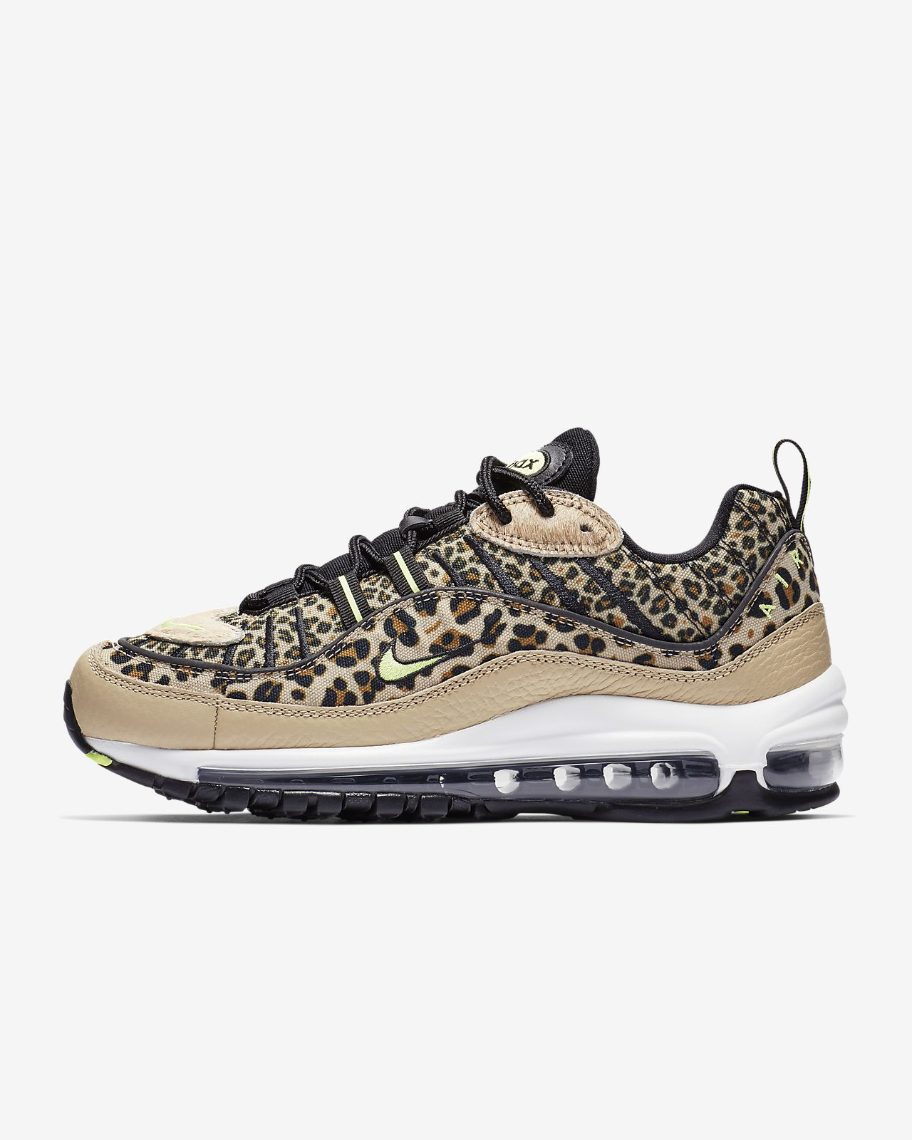 new concept 6d62a bd5a1 ... Nike Air Max 98 Premium Animal Women s Shoe