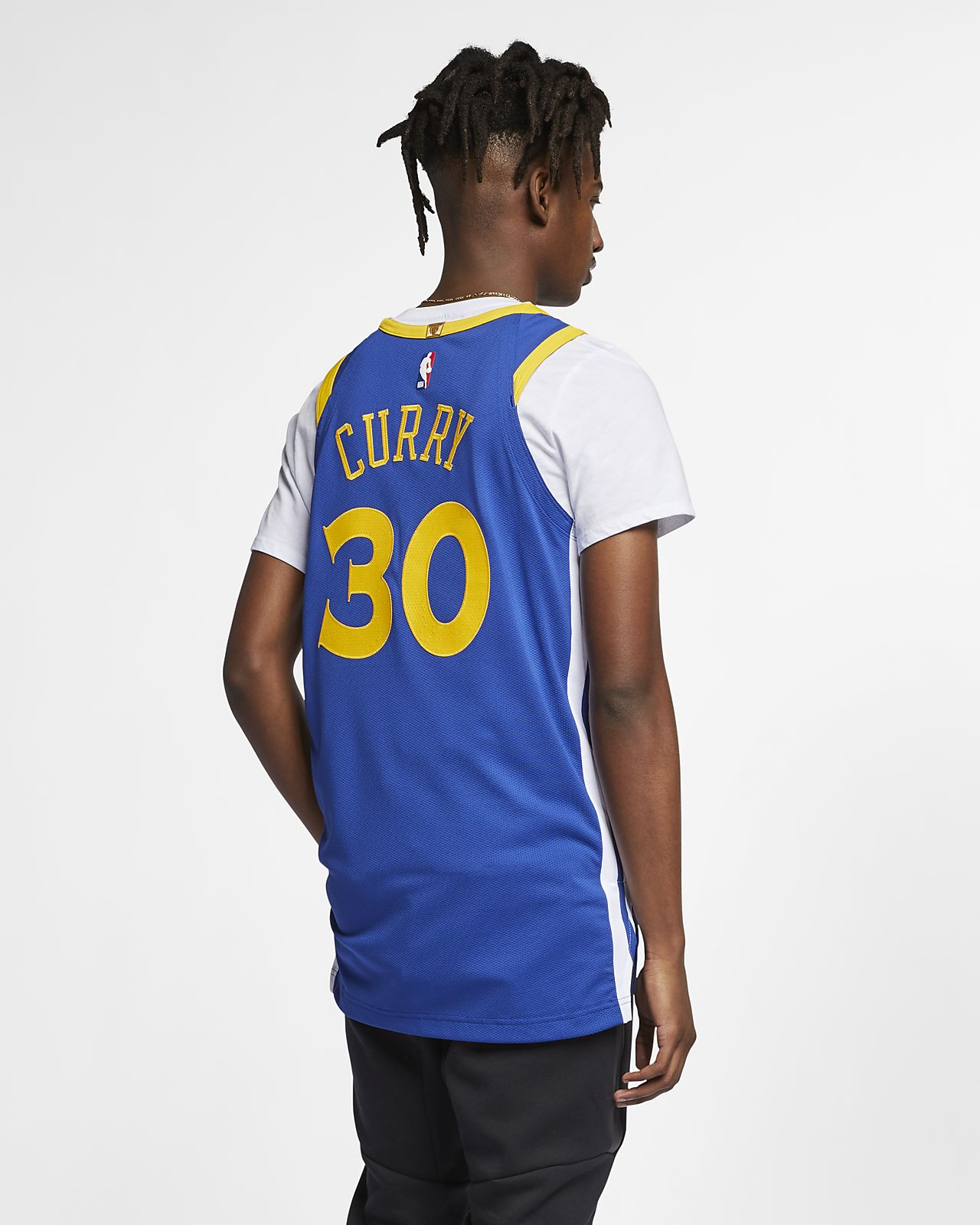 the latest 9ba8c c55cd Stephen Curry Icon Edition Authentic (Golden State Warriors) Men's Nike NBA  Connected Jersey