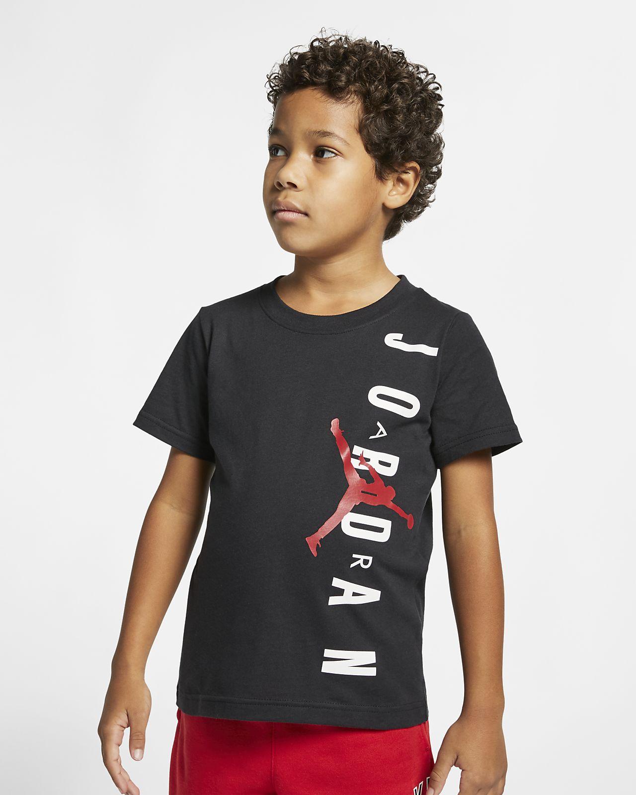 t shirt air jordan avec inscrit jump man