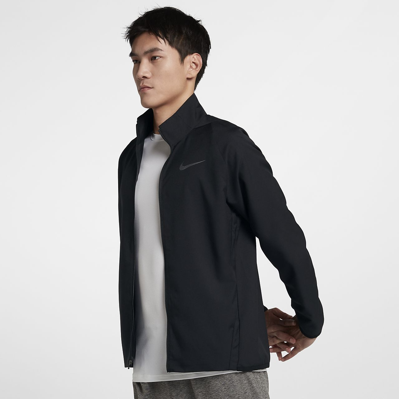 Nike Dri-FIT Web-Trainingsjacke für Herren