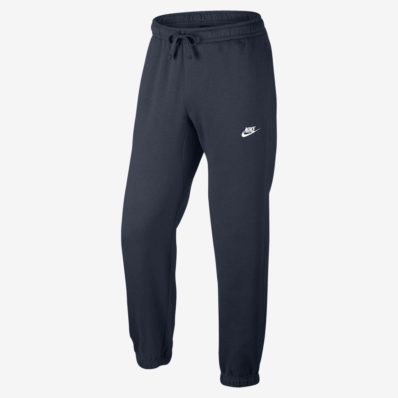 Pantalon en tissu Fleece coupe standard Nike Sportswear pour Homme
