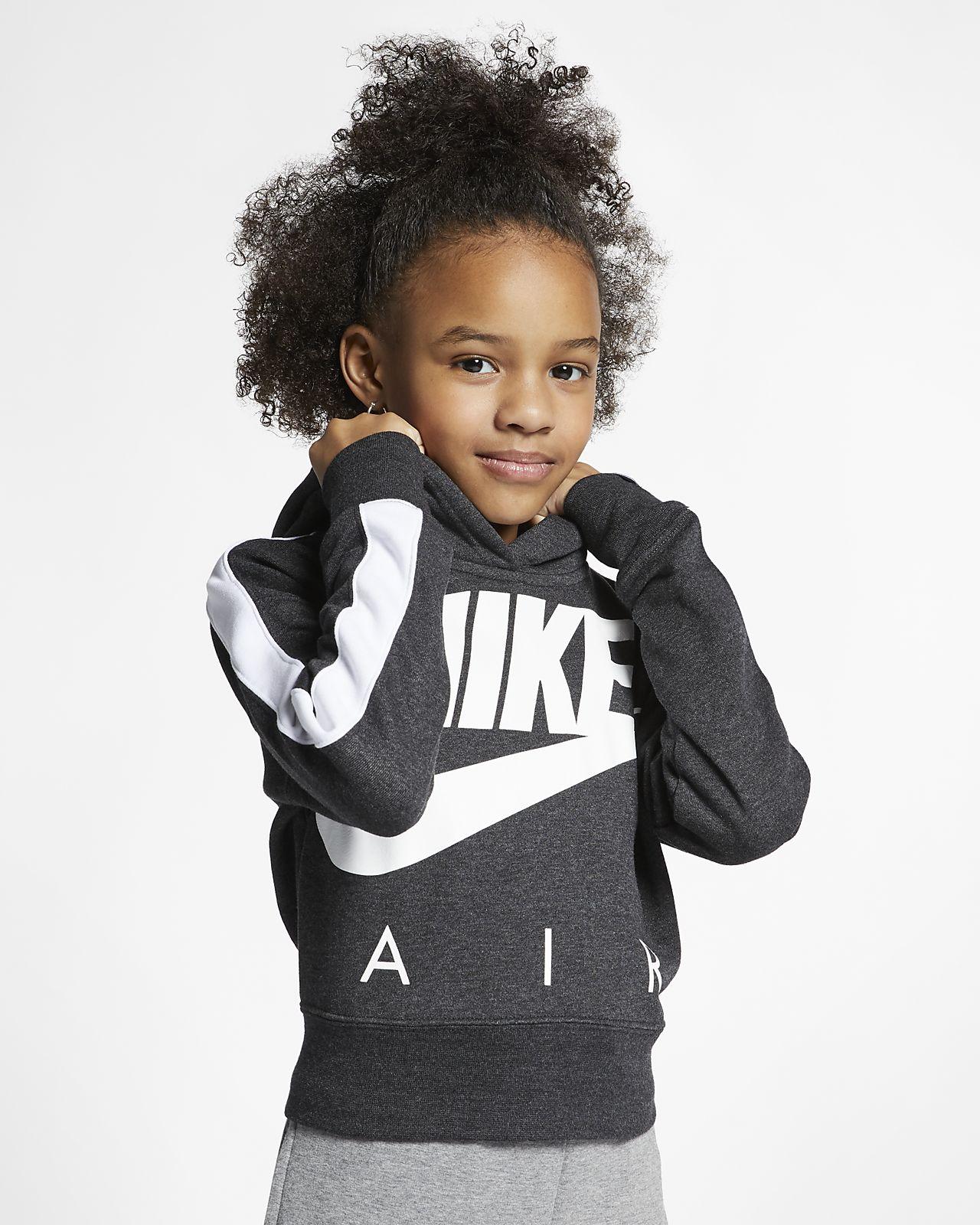 Nike Air Korte hoodie voor meisjes