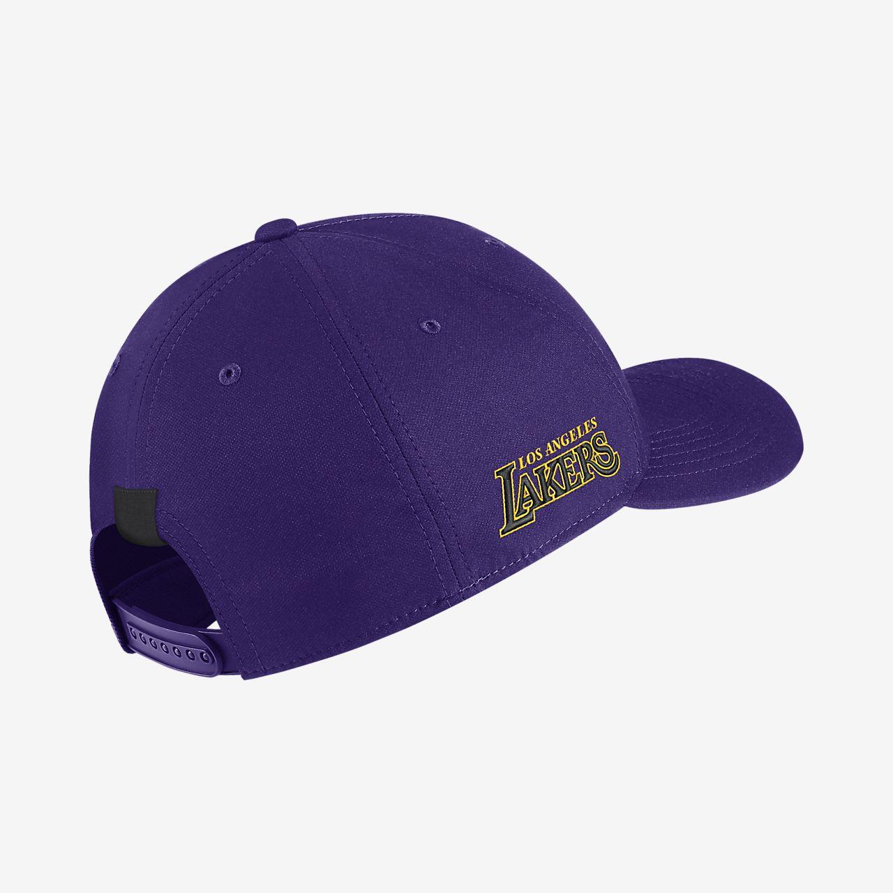 ae7623fa4 Los Angeles Lakers City Edition Nike AeroBill Classic99 NBA Hat ...