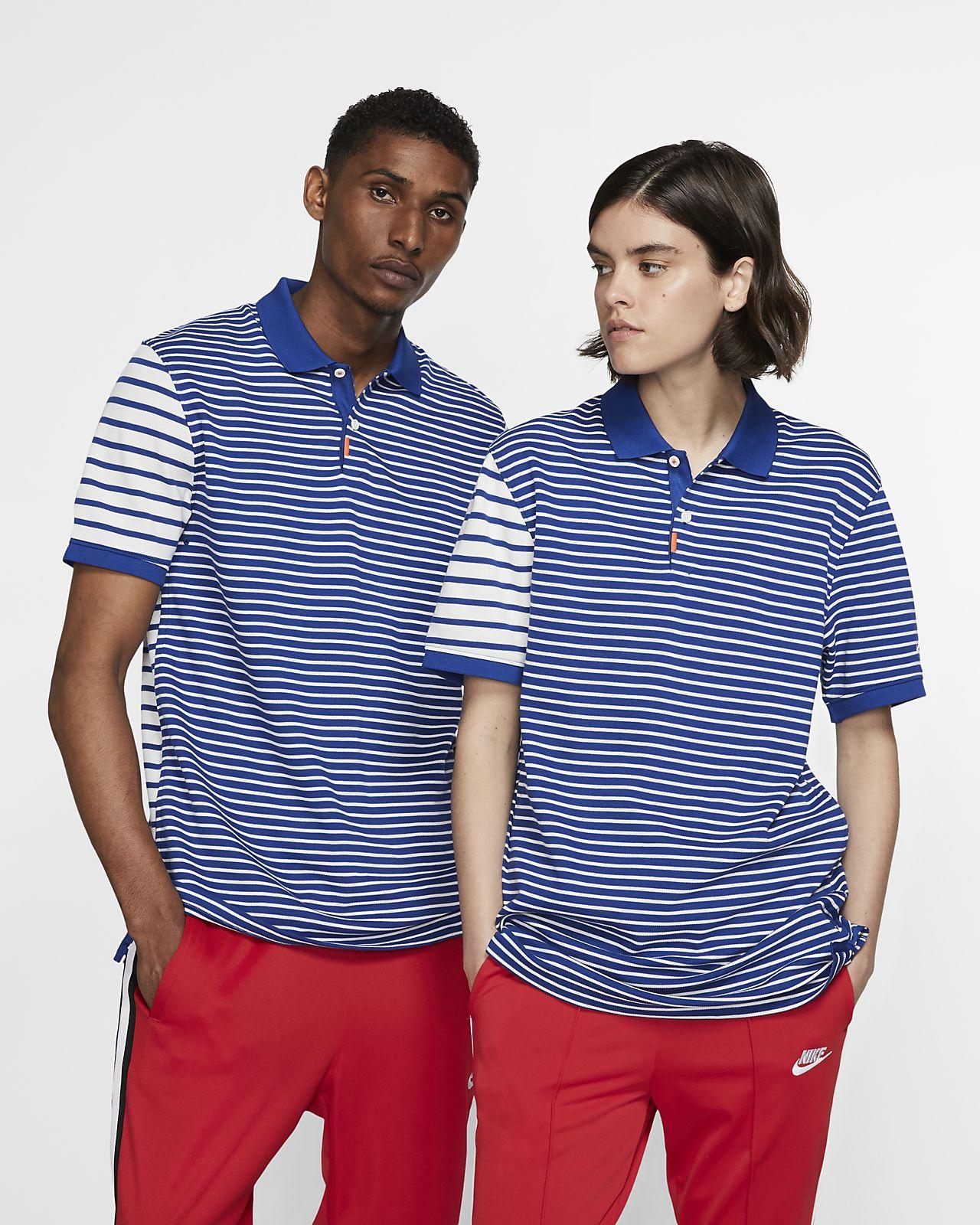 The Nike Polo Unisex Striped Polo