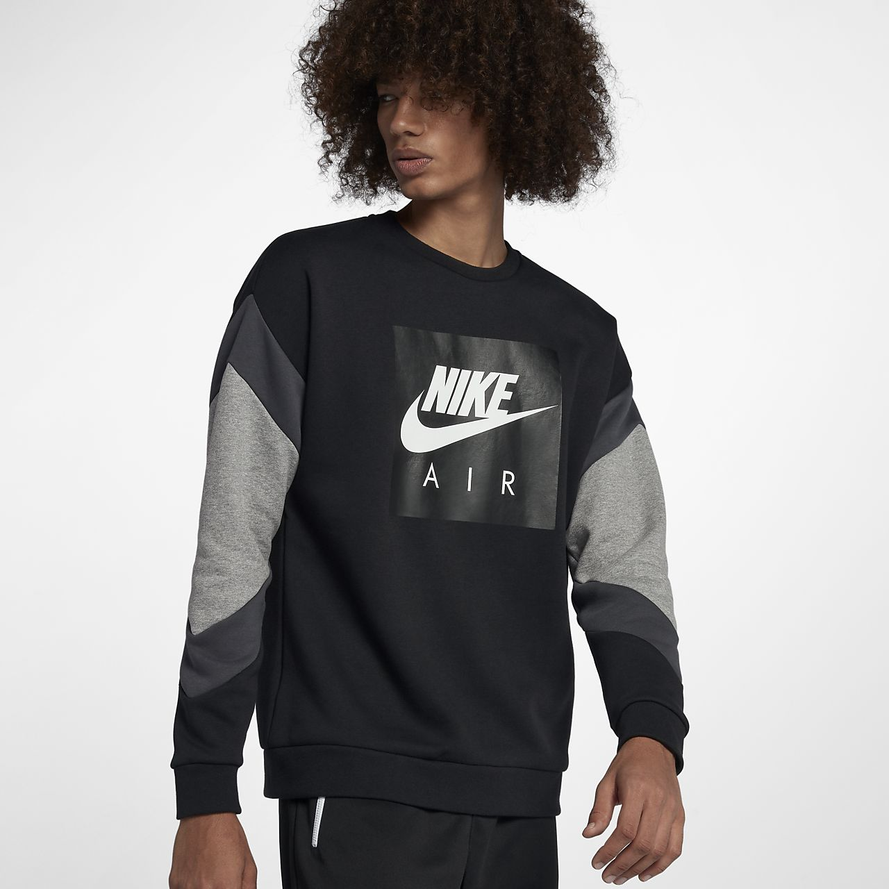 efce979edf58 Nike Air Men s Fleece Crew. Nike.com AT